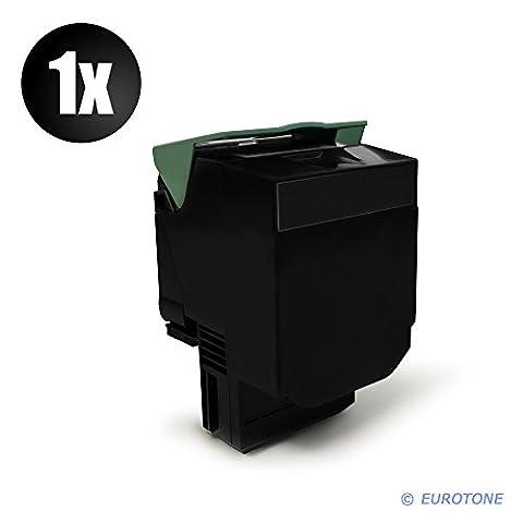 Toner compatible avec imprimante lexmark c540H1KG c540 c543 c544 x543 x544 x546 x548 c546 noir env. 2500 pages