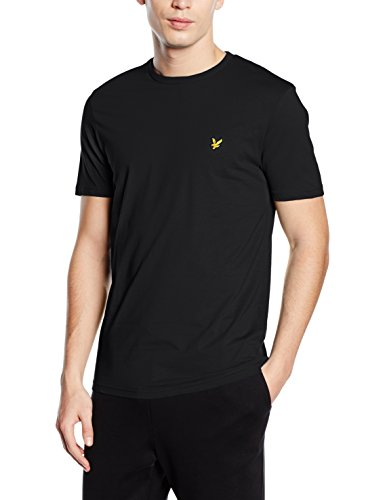 lyle-scott-crew-neck-t-shirt-uomo-nero-small