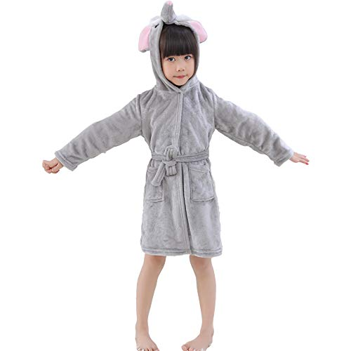 RGTOPONE Kids Soft Bathrobe Anim...
