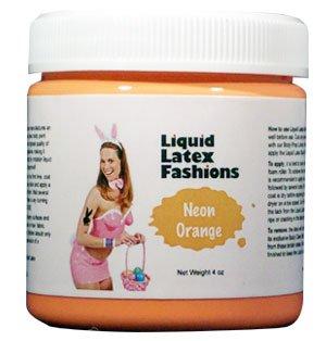(Ammonia Free Liquid Latex Body Paint - 4oz Teal by Liquid Latex Fashions)