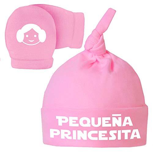 ClickInk Pack Gorro Manoplas recién Nacido. Pequeña
