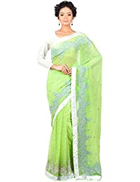 AGNIMITRA PAUL Women's Georgette with Blouse Piece Saree