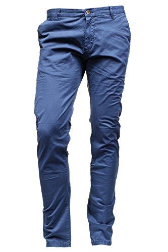 Kenzarro - Chino Kd67003 Chino Marine Bleu