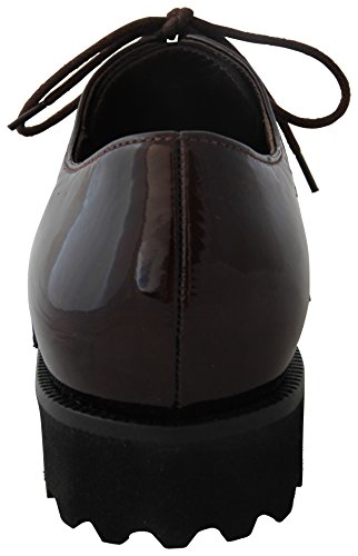 ACADI GABOR CHUNKY LACE UP Wine