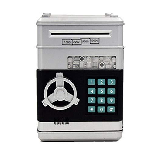 Sparschwein Elektronische Geld Bank ATM Passwort Safe Automatische Roll Banknoten Spardose Geldmünze für Kinder und Erwachsene - Elektronische Passwort-organizer