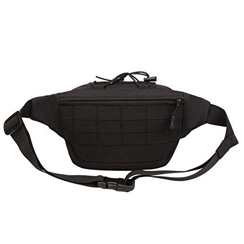 Reefa Tasche für Outdoor Sport Reiten für Männer Schwarz