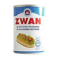 Zwan 10 Hotdog Sausages Halal, 400g