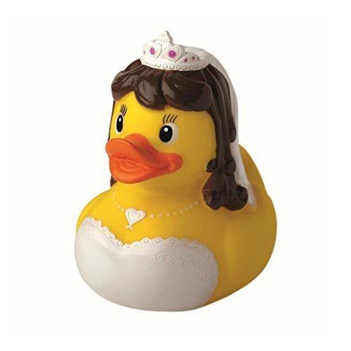 Quietsche-Ente Quietscheente Badeente Bath Duck Wedding Mrs Bride Hochzeit Braut