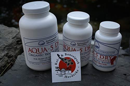 Vorteilspack Aqua 5 Dry Bakterien Dosen 2 x 280g Filterbakterien Koi Teich -