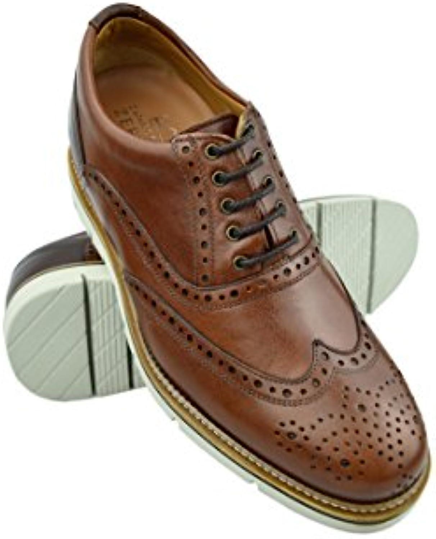 Zerimar Schuhe für Männer Erhöhen Sie 7 cm | Herrenschuhe mit Erhöhundgen | Schuhe die Ihre Höhe Erhöhen