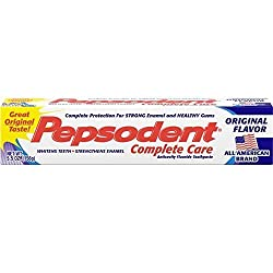 Pepsodent Complete Care Toothpaste Original Flavor 5.5 oz ( Pack of 12)