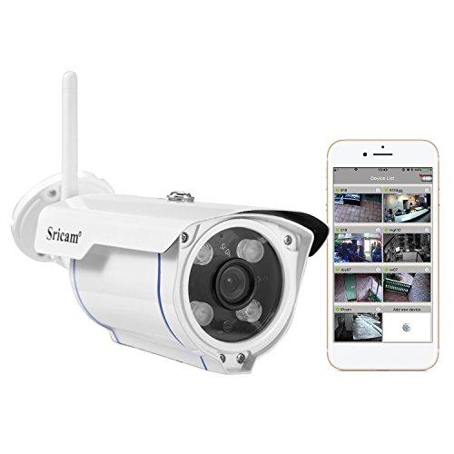 Sricam Überwachungskamera 720P (Desktop Security Kabel)