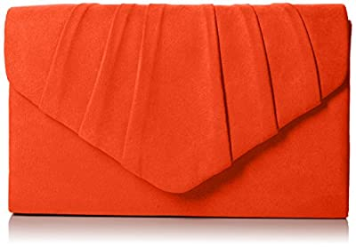 SwankySwans Women's Iggy Suede Velvet Envelope Party Prom Clutch Bag Clutch