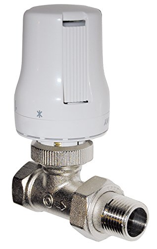 Sanitop-Wingenroth Thermostatventil komplett mit Fühler, 1 Stück, 3/8 Zoll, 27283 4