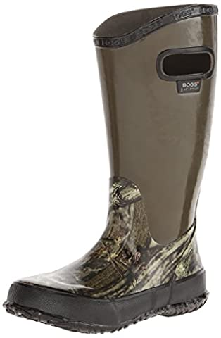 Bogs Hunting Rain Boot (Infant/Toddler/Little Kid/Big Kid), Mossy Oak, 6 M US Big Kid