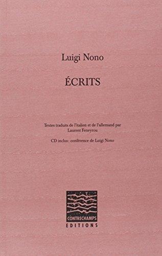 Ecrits (1CD audio) par Luigi Nono
