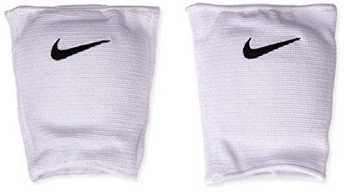 Ginocchiera Nike Essentials per pallavolo, bianca, X-piccola / piccola