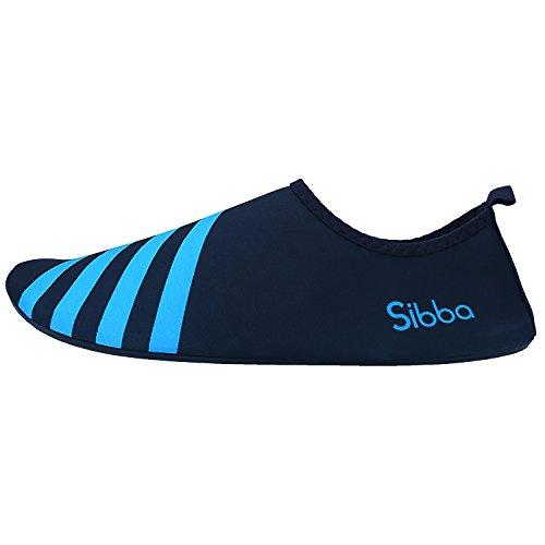 Sibba Sport Acquatici Scarpe Aqua Scarpe Scarpe Da Surf Scarpe Da Spiaggia Scarpe A Piedi Nudi Yogaschuhe Scarpe In Neoprene Con Multiuso Per Uomo E Donna Blu