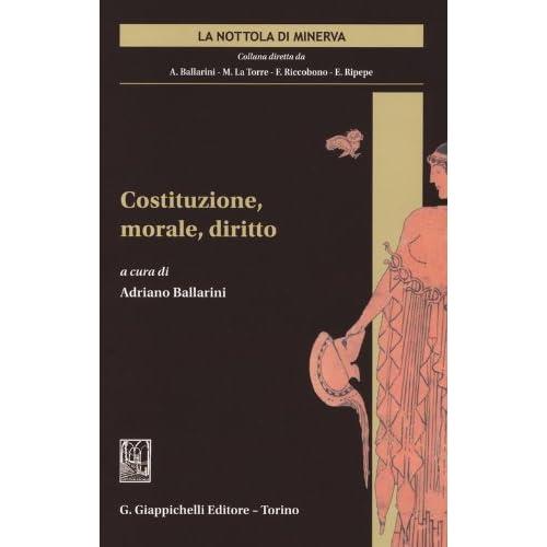 Costituzione, Morale, Diritto