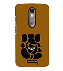 PrintVisa Designer Back Case Cover for Motorola Moto X Force :: Motorola Moto X Force Dual SIM (Avaneesh Balaganapati Balachandra Buddhinath Buddhipriya Chaturbhuj)