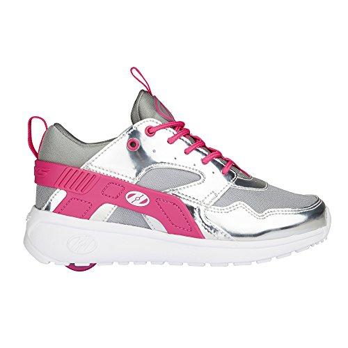 Heelys Force, Sneakers basses garçon silver/grey/pink