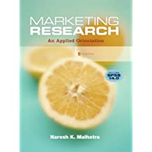 Marketing Research: An Applied Orientation [With CDROM]