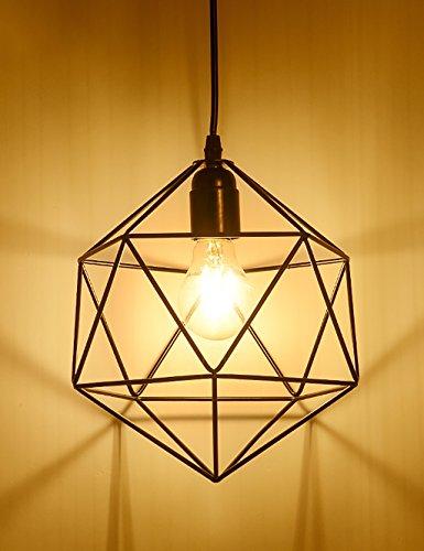 Paese American creative retrò piccole gabbie lampade bar ristorante con terrazza lampadario soggiorno Bar Cafe industriali ( stile : A )