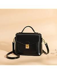 YTTY Large Sangle Petit Carré Mode Sac à Main Boucle Sauvage Épaule Messenger Bag, marron