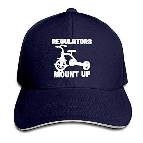 Regulators Mount up Adjustable Sandwich Baseball Cap for Men and Women -