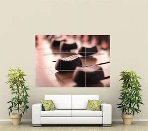 Split-Pic Graphic Equalizer Giant Wall Art Poster MU174