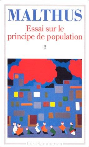 Essai sur le principe de population 2