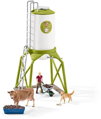 Schleich 41429 – Futtersilo mit Tieren, mehrfarbig - 2