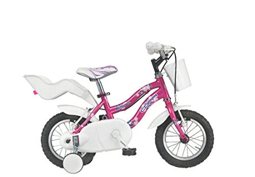 FAUSTO COPPI MAGIC GIRL 12   BICICLETA INFANTIL  COLOR ROSA  TALLA 12
