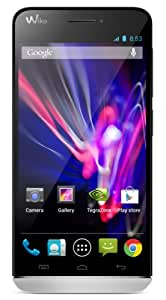 Wiko Wax Smartphone débloqué 4G (Ecran: 4.7 pouces - 4 Go - Android 4.3 Jelly Bean) Blanc