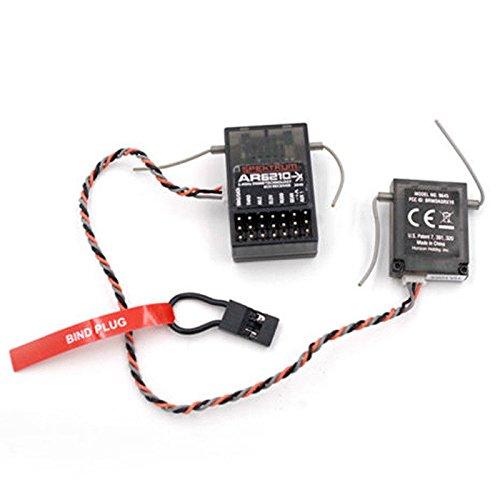 dsmx empfaenger Willowhe Neue AR6210 DSMX 6-Kanal Empfänger Unterstützung DSM2 für Spektrum Sender TX RC