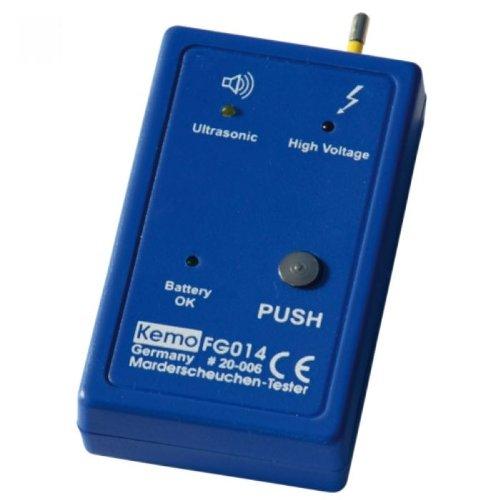 KEMO Marderscheuchen-Tester, 9 V Batterie, FG014