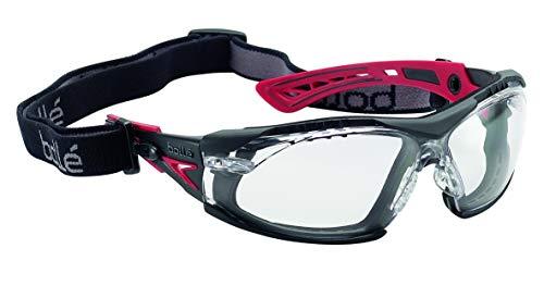 'Bollé-Gafas protectoras'Rush +, 1pieza, talla única, color rojo/negro, rushp fspsi