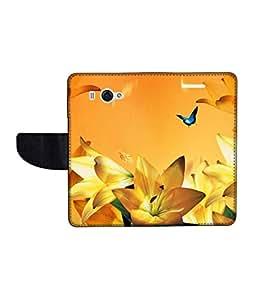 KolorEdge Printed Flip Cover For Redmi Xiaomi MI 2S Multicolor - (45KeMLogo11112XiaomiMi2S)