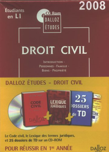 Droit civil : CD-ROM par Dalloz