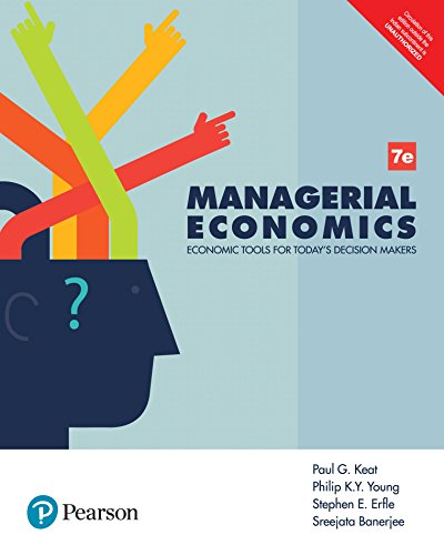 Managerial Economics  by Pearson
