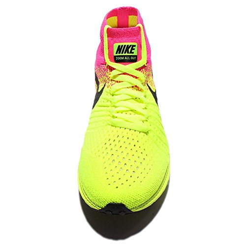 Nike W Zoom All Out Flyknit Oc, Chaussures de Running Entrainement Femme Noir / Multicolore