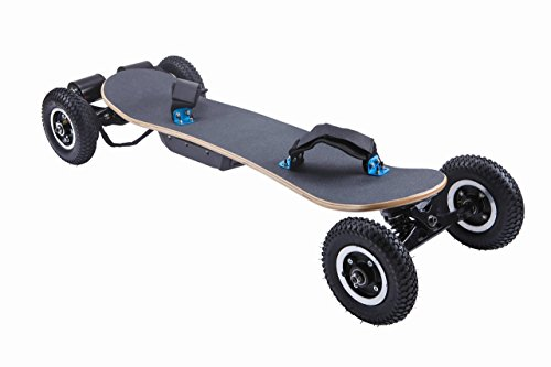 Ninestep 25 mph 2000w mountainboard eléctrica skate largo...
