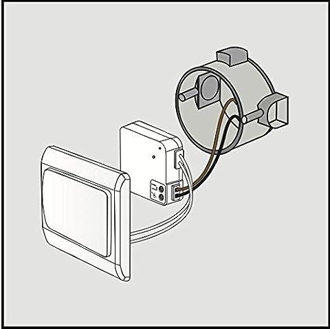 Trust AWMD-250 - Micro-module variateur ultra plat 250W sans neutre + connexion pour interrupteur (Eq. Chacon DiO