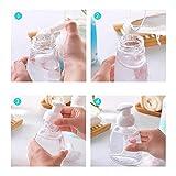 Lyanther 1 Stück Schäumende Seifenspender, Shampoo Schaumspender, Pumpflaschen mit Foam Maker, BPA frei, für Küche u0026 Bad Arbeitsplatten, schäumende Flüssigseife 250ml (8.5 oz)