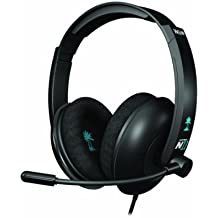 Turtle Beach - Auriculares Para Gaming Ear Force N11, Color Negro (Nintendo Wii U)
