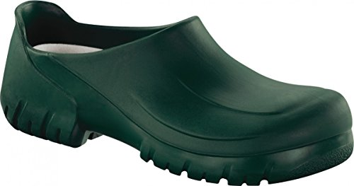 Birkenstock Professional Clog A640 mit Stahlkappe grün Gr. 36 - 47 020262, Größe + Weite:36 normal Birkenstock Professional Clogs