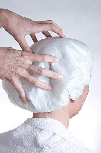 Cocune - Gorro ducha lavar pelo paciente, sin jabón