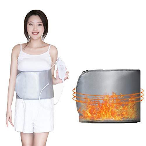 Abnehmen Gürtel 360 Grad Heizung Vibrationsmassage Gürtel Gewichtsverlust Fettformung Brennen Bauch Reduzieren Bauch 220 V Home Comfort Nuangong