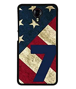 Fuson Designer Back Case Cover for Micromax Canvas Xpress 2 E313 (Numeric Three Man Young Old Teen Boy )