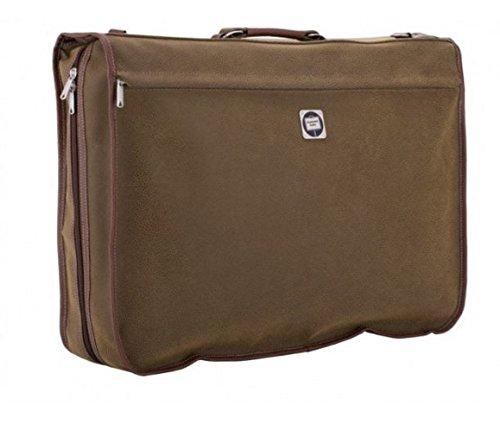 Koffer-Experte - Portatrajes de viaje marrón marrón 62x46x13cm